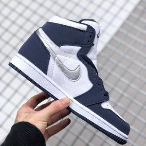 "Air Jordan 1 ""Midnight Navy"" Midnight Blue"
